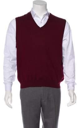 Ralph Lauren Purple Label Merino Wool & Silk-Blend Sweater Vest