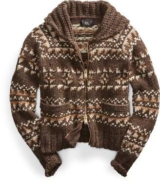 Ralph Lauren Cowichan-Inspired Zip Sweater