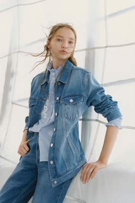 French Connection Slouchy Western Denim Jacket
