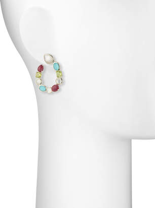 Ippolita Rock Candy Forward-Facing Hoop Earrings in Monaco