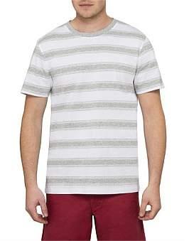 David Jones Fine Stripe Short Sleeve Top