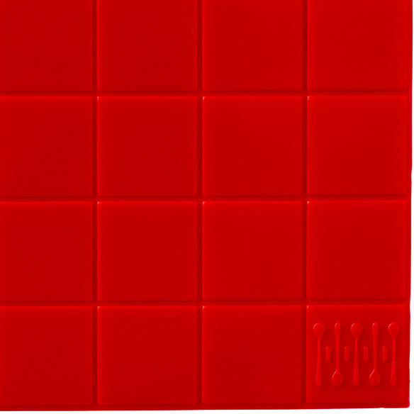 Container Store drawerdecor® Base MatTM Red