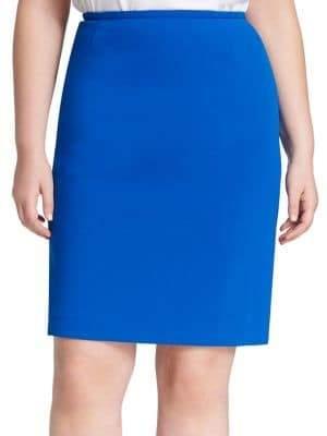 Calvin Klein Plus Classic Straight Skirt