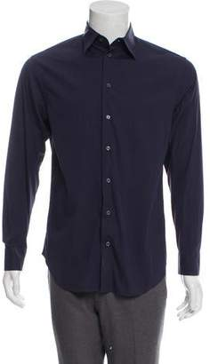 Armani Collezioni Woven Button-Up Shirt