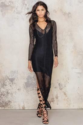 NA-KD Na Kd V-neck Lace Dress
