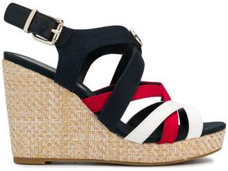 Tommy Hilfiger strappy wedge heel sandals