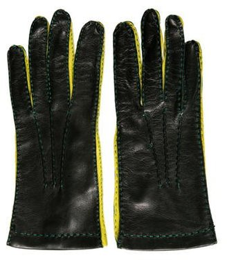 Paul Smith Leather Driving Gloves $95 thestylecure.com