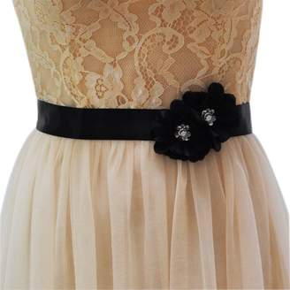 Azaleas Women's Flower Bridal Bridesmaid Dresses Sash Belts
