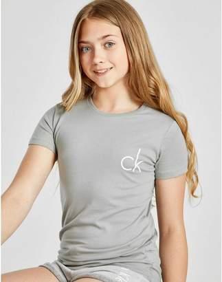 Calvin Klein Girls' T-Shirt 2 Pack Junior