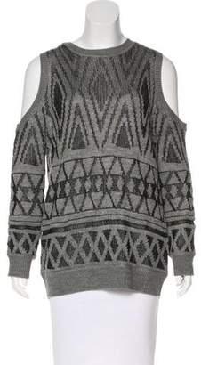 Rebecca Minkoff Cold Shoulder Knit Top w/ Tags