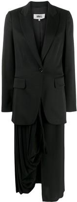 MM6 MAISON MARGIELA detachable skirt blazer