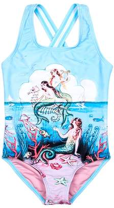 Rock Your Baby Baby Girl's Little Mermaids