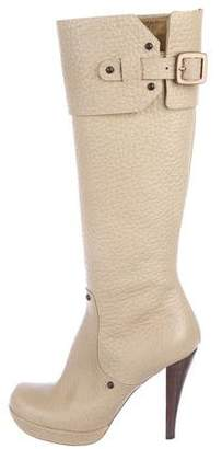 Viktor & Rolf Leather Knee-High Boots
