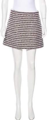 Thakoon Woven Mini Skirt