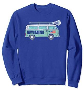 LaCrosse Wyoming Retro Hippie Van Sweatshirt