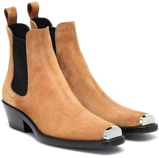 Calvin Klein Exclusive to Mytheresa – Western Claire suede ankle boots