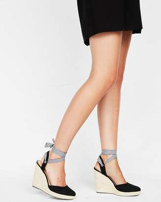 Express Closed Toe Wedge Espadrilles