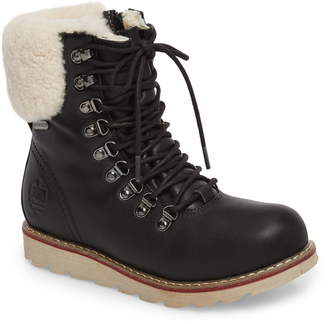 64a99136756 Royal Canadian Lethbridge Waterproof Snow Boot with Genuine Shearling Cuff