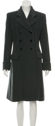 Giorgio Armani Wool Double-Breasted Jacket $225 thestylecure.com