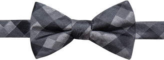 Ryan Seacrest Distinction Men's Monte Check Pre-Tied Silk Bow Tie, Created for Macy's