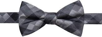 Ryan Seacrest Distinction Men Monte Check Pre-Tied Silk Bow Tie