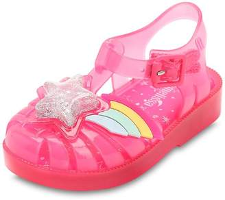 Mini Melissa Star Rubber Sandals