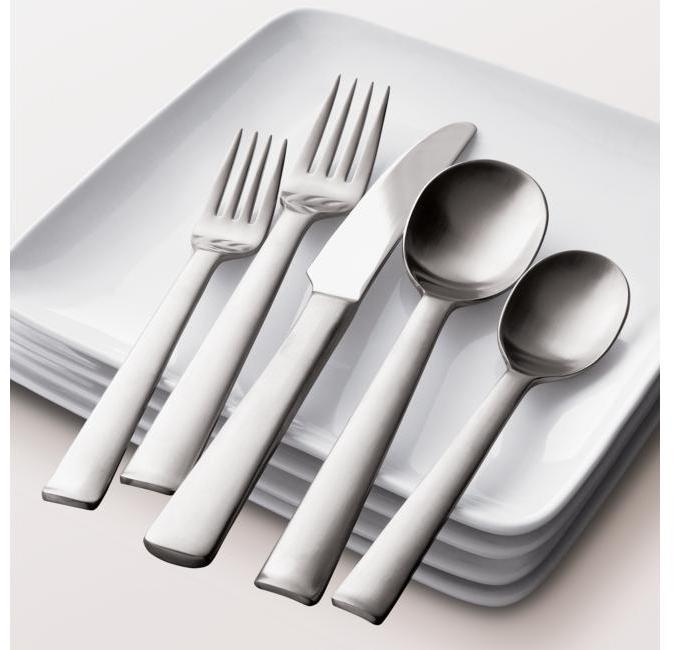 50-Piece Foster Flatware Set