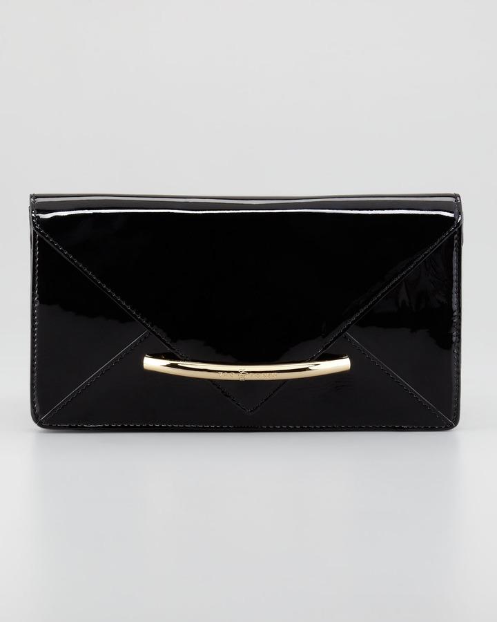 ZAC by Zac Posen Marlene Envelope Clutch Bag, Black