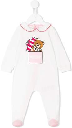 Moschino Kids teddybear logo pyjamas
