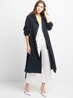 Gap TENCEL? Drapey Trench Coat