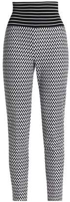 Missoni Jacquard-Knit Skinny Pants
