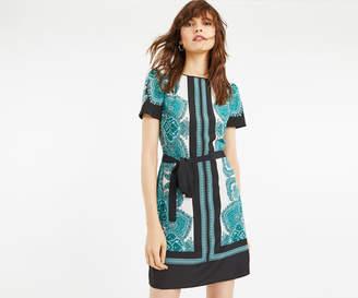 Oasis PAISLEY SHIFT DRESS