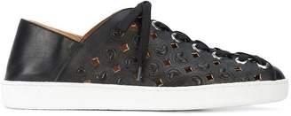 Derek Lam Dael Laser Cut Sneaker