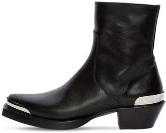 Vetements METAL TEXAN LEATHER BOOTS