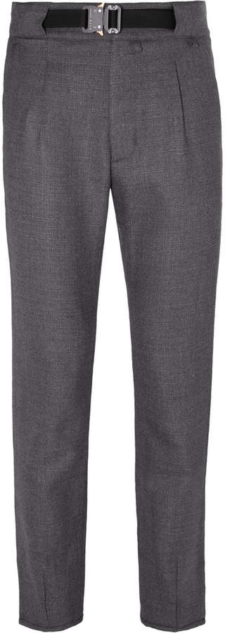 ALYX Tapered Pleated Wool-Blend Trousers