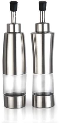 Berghoff Gemini's Silver Oil & Vinegar Dispenser 2-Piece Set