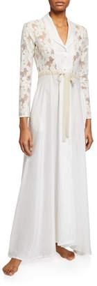 La Costa Del Algodon Misha Lace-Bodice Robe