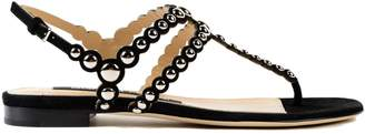Sergio Rossi Open Toe Studded Sandals