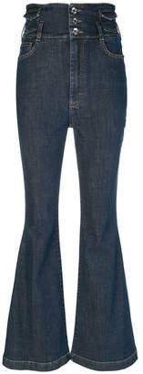 Dolce & Gabbana five-pocket flared jeans