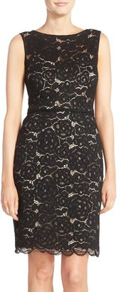 Women's Ellen Tracy Lace Sheath Dress $128 thestylecure.com