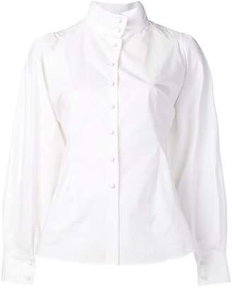 Maison Flaneur funnel neck shirt