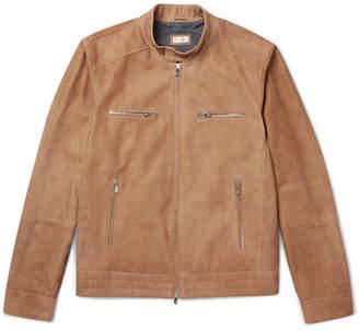 Brunello Cucinelli Suede Blouson Jacket