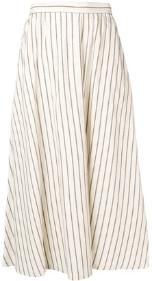 Lorena Antoniazzi long striped skirt