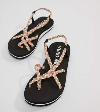 Vero Moda Multi Strap Flat Sandal