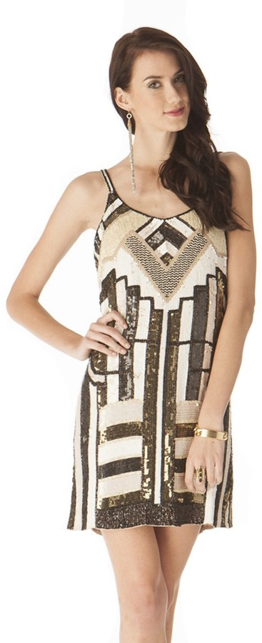 Parker Hayden Sequin Tank Dress