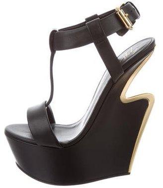 Giuseppe Zanotti Platform Wedge Sandals w/ Tags $325 thestylecure.com