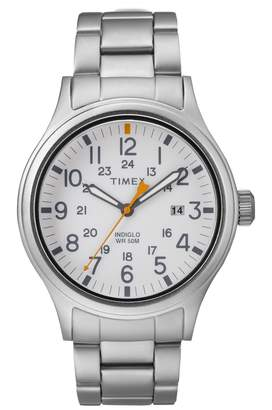 Timex R) Allied Bracelet Watch, 40mm