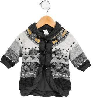 Catimini Boys' Braided Toggle Sweater