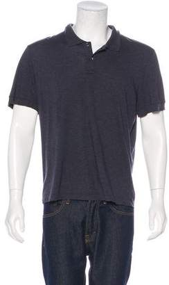 James Perse Cashmere-Blend Polo Shirt