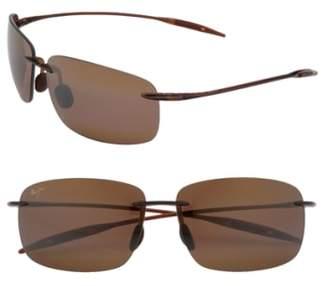 Maui Jim Breakwall 63mm PolarizedPlus2(R) Rimless Sunglasses